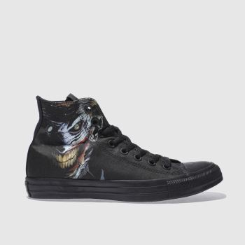 Converse Black Chuky Taylor All Star Hi Joker Mens Trainers
