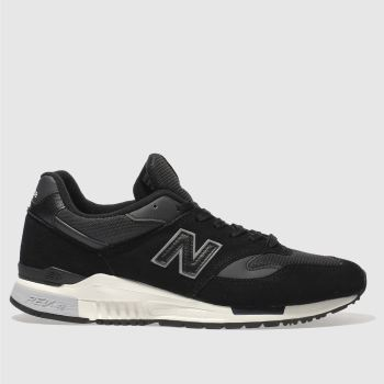 New Balance Black 840 Mens Trainers