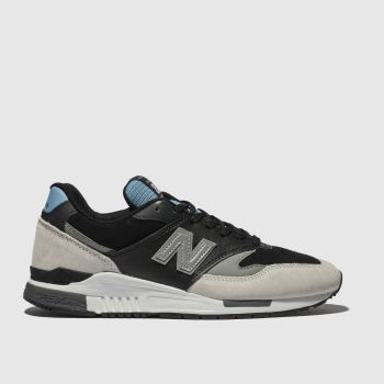 New Balance Stone & Black 840 Mens Trainers