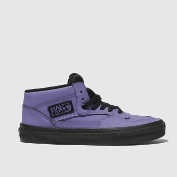 Vans Purple Half Cab Mens Trainers