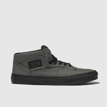 Vans Grey & Black Half Cab Mens Trainers