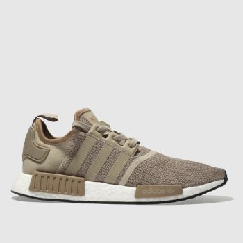 ADIDAS TAN NMD_R1 TRAINERS