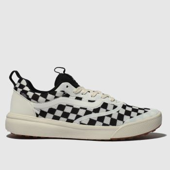 Vans White & Black Ultrarange Rapidweld Mens Trainers