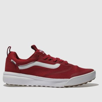 Vans Red Ultrarange Rapidweld Mens Trainers