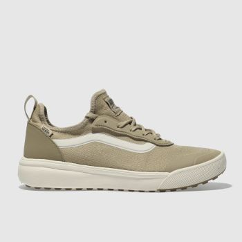 Vans Tan Ultrarange Mens Trainers