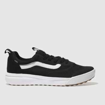 Vans Black Ultrarange Rapidweld Mens Trainers