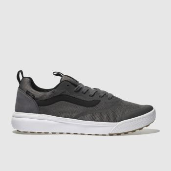 Vans Grey & Black Ultrarange Rapidweld Mens Trainers