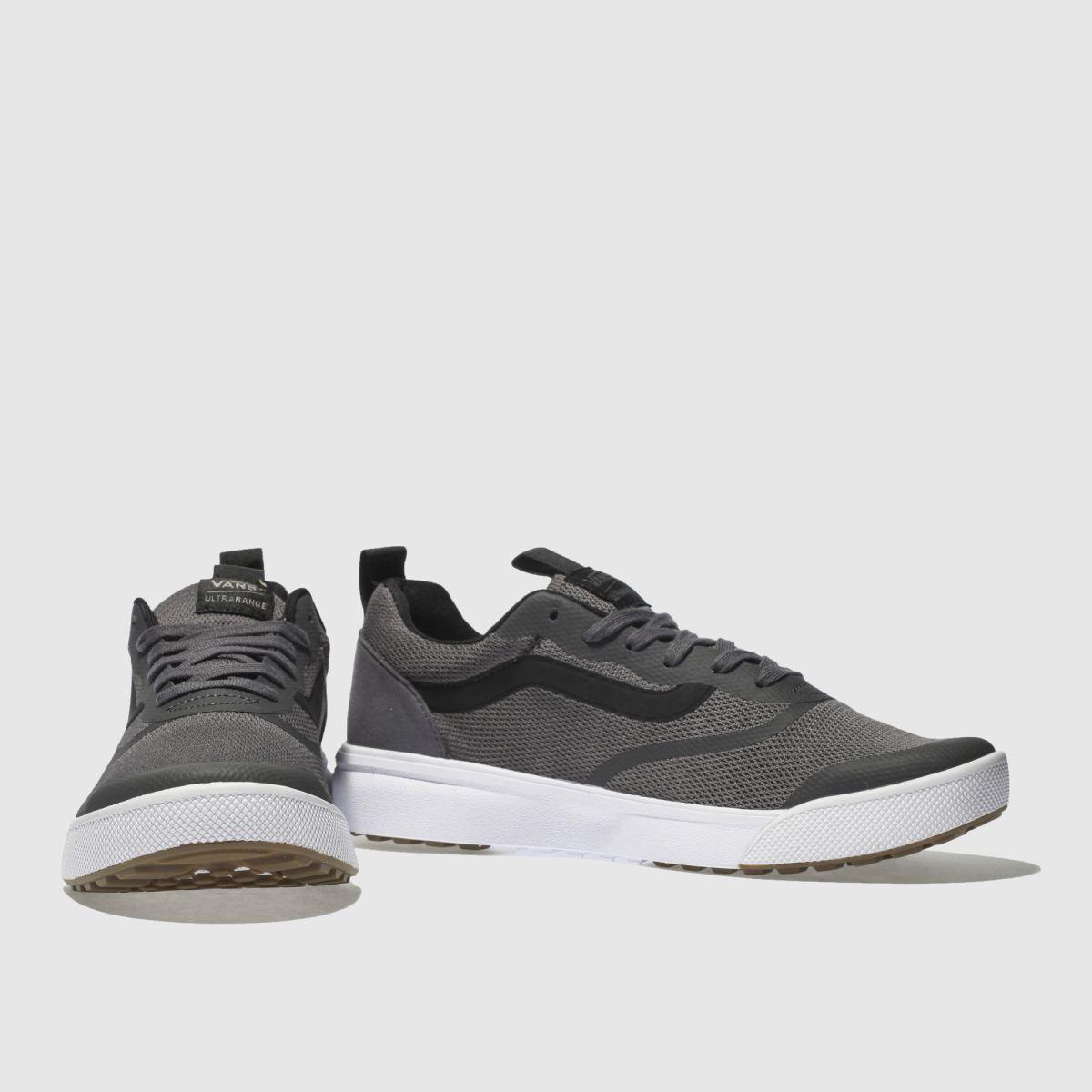 Herren Grau-schwarz vans Ultrarange Rapidweld Sneaker | schuh Gute Qualität beliebte Schuhe