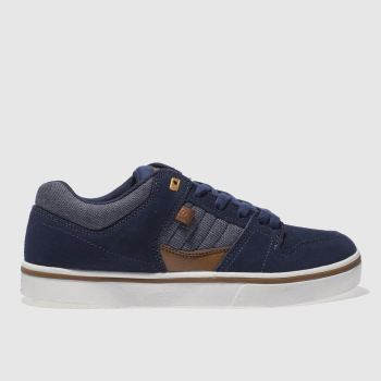 Dc Shoes Navy Course 2 Mens Trainers