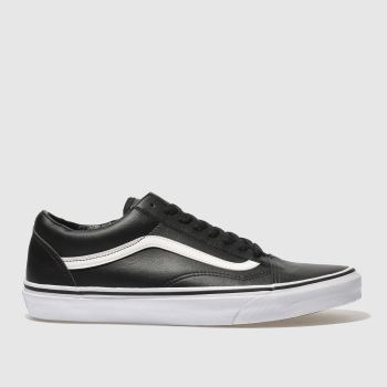 Vans Black Old Skool Mens Trainers