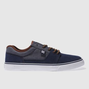 Dc Shoes Navy Tonik Se Mens Trainers