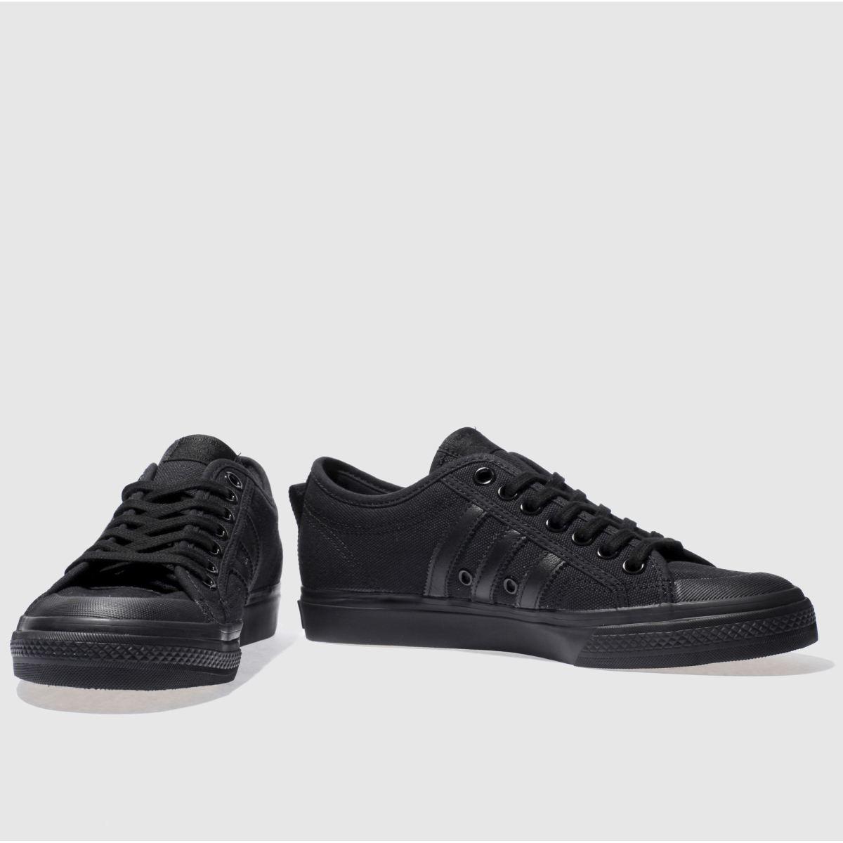 Herren Schwarz adidas Nizza Sneaker | schuh Gute Qualität beliebte Schuhe