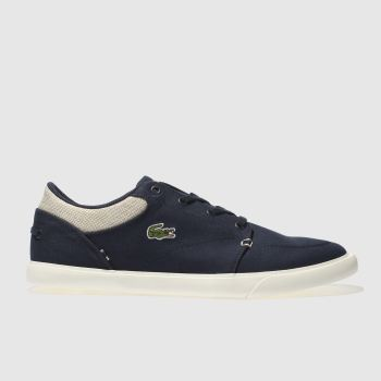 Lacoste Navy Bayliss Vulc 218 Mens Trainers