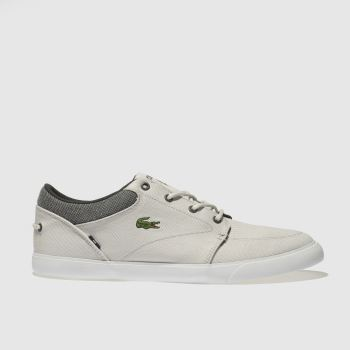 Lacoste Light Grey Bayliss Mens Trainers