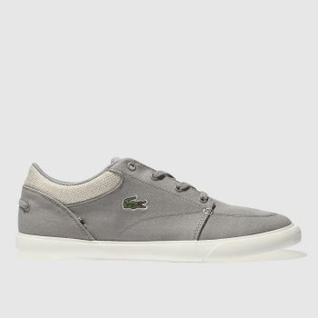 Lacoste Grey Bayliss Vulc 218 Mens Trainers