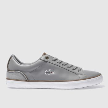 Lacoste Grey Lerond 317 Mens Trainers