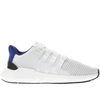 Adidas White & Navy Eqt Support 93/17 Mens Trainers