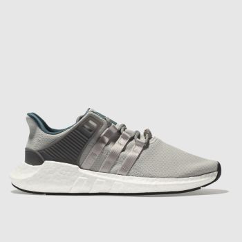 Adidas Light Grey Eqt Support 93/17 Mens Trainers