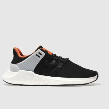 Adidas Black Eqt Support 93/17 Mens Trainers