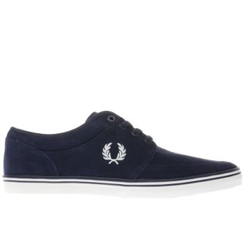 Fred Perry Navy Stratford Mens Trainers