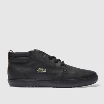 Lacoste Black Ampthill Terra 317 Mens Trainers