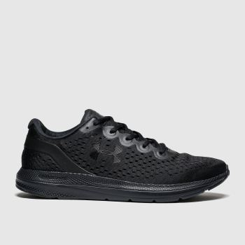 Under Armour Black Charged Impulse Mens Trainers