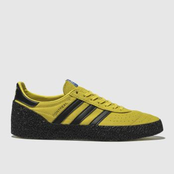 Adidas Yellow Montreal 76 Mens Trainers