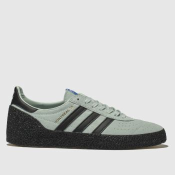 Adidas Light Green Montreal 76 Mens Trainers