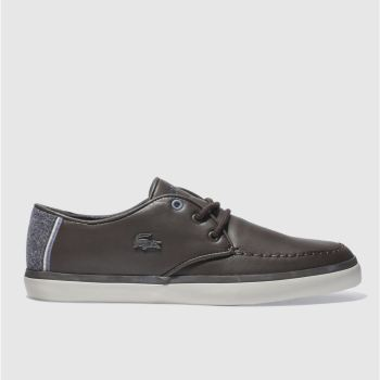 Lacoste Brown Sevrin 417 Mens Trainers