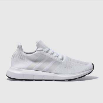Adidas White Swift Run Mens Trainers