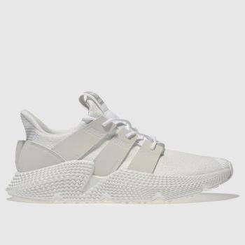 Adidas White Prophere Mens Trainers
