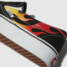 Vans classic slip-on flame 1