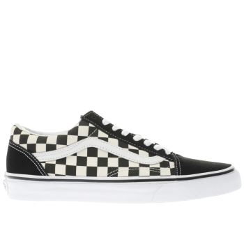 vans old skool checkerboard herren