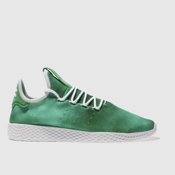 ADIDAS GREEN TENNIS PHARRELL HU HOLI TRAINERS