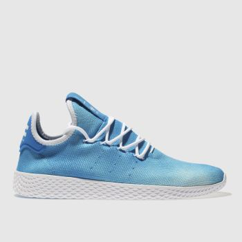 Adidas Blue Tennis Pharrell Hu Holi Mens Trainers