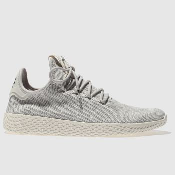 Adidas Grey Pharrell Williams Tennis Hu Mens Trainers