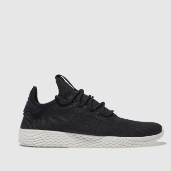 Adidas Black Pharrell Williams Tennis Hu Mens Trainers