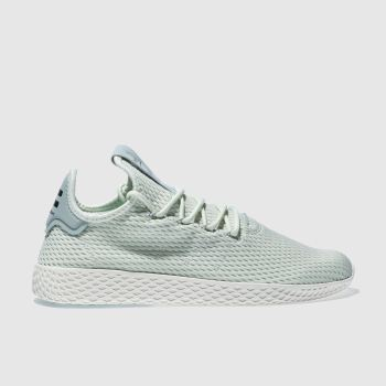 bf9d8a02548c0 mens light green adidas pharrell williams tennis hu trainers