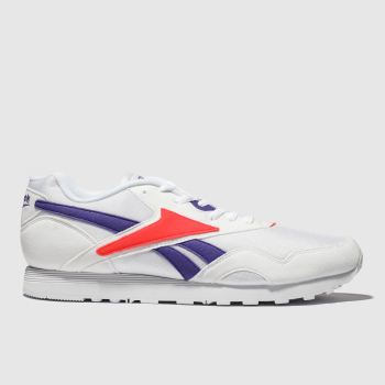 Reebok White Rapide Mens Trainers