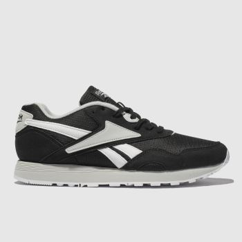 REEBOK BLACK & GREY RAPIDE TRAINERS