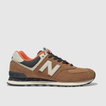 New Balance Tan 574 Mens Trainers