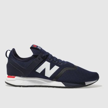 New Balance Navy 247 Mens Trainers