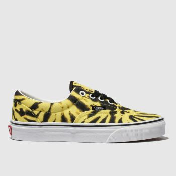 Vans Yellow Era Tie Dye Mens Trainers