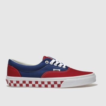 Vans Red Era Mens Trainers
