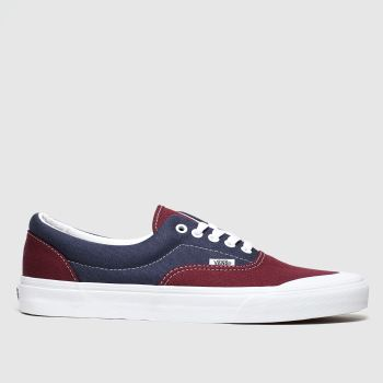 Vans Burgundy Era Tc Mens Trainers