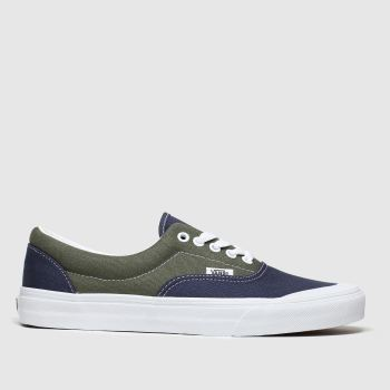 Vans Navy & Green Era Tc Mens Trainers