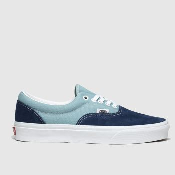 Vans Navy & Pl Blue Era Mens Trainers