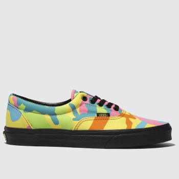 Vans Green & Pink Era Mens Trainers