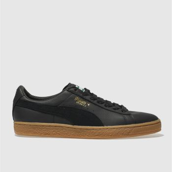 Puma Black Basket Classic Mens Trainers