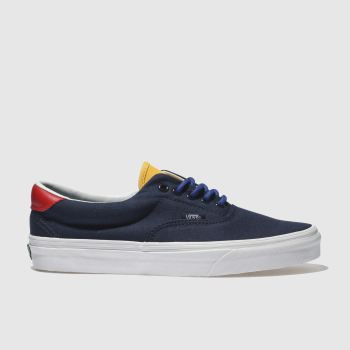 Vans Navy Era 59 Mens Trainers
